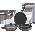 Non-Stick Cookware Set 4 Pcs -INNOVA